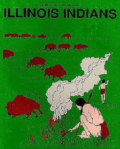 Illinois Indians coloring book